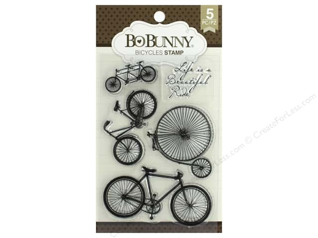 Bo Bunny Stamp Essentials Bicycles