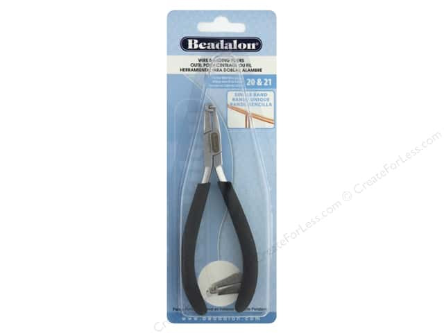 Beadalon Tool Pliers Wire Banding 20 & 21 Ga Single Band