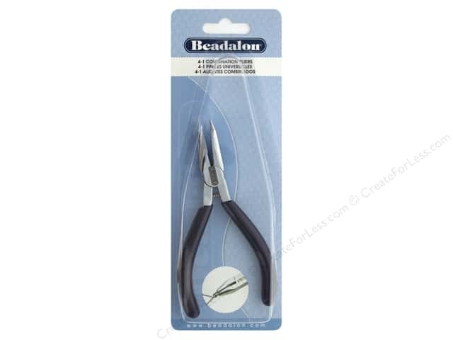 Beadalon Tool 4 in 1 Pliers Round, Chain, Cut & Jump Ring Closer