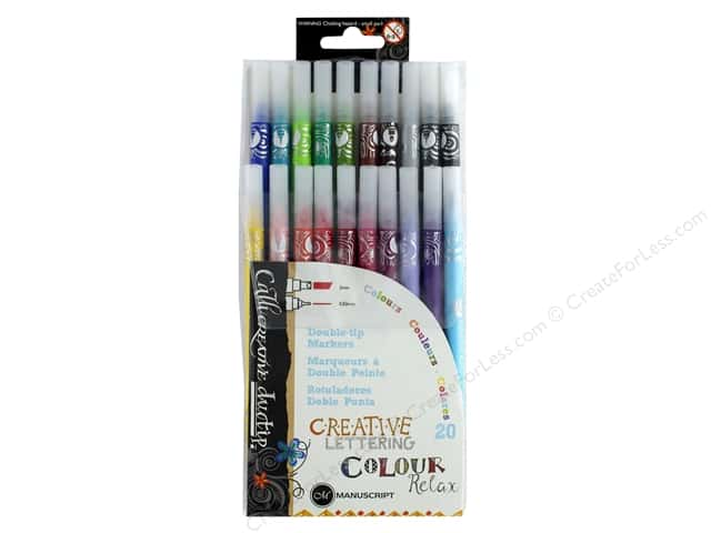 Manuscript Callicreative Marker Double Tip 20 pc Relax