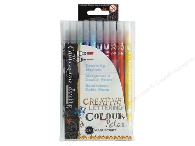 Manuscript Callicreative Marker Double Tip 10 pc Relax