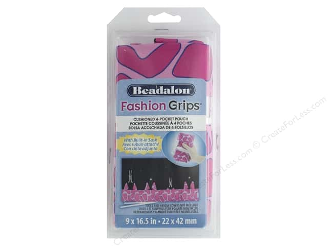 Beadalon Tool Fashion Grips Bag Giraffe Pink