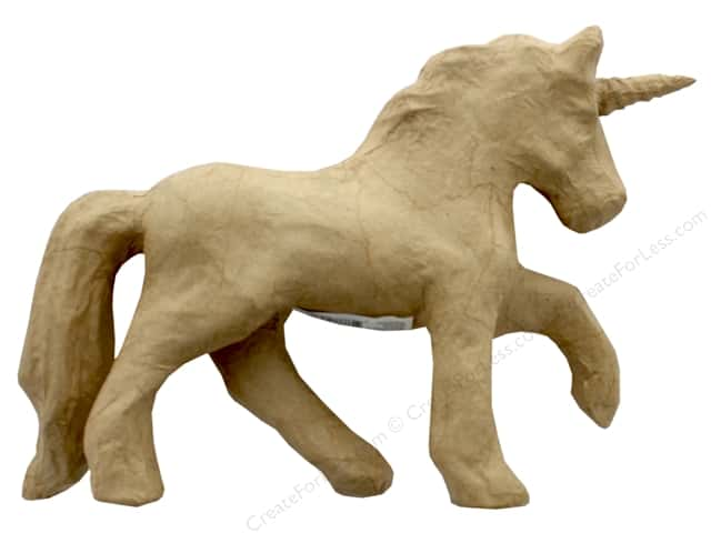 Darice Paper Mache Unicorn 8.6 in.