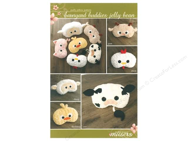 Mckay Manor Musers Barnyard Buddies Jelly Bean Faces Pattern