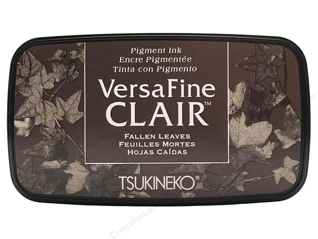 Tsukineko VersaFine Clair Ink Pad Fallen Leaves