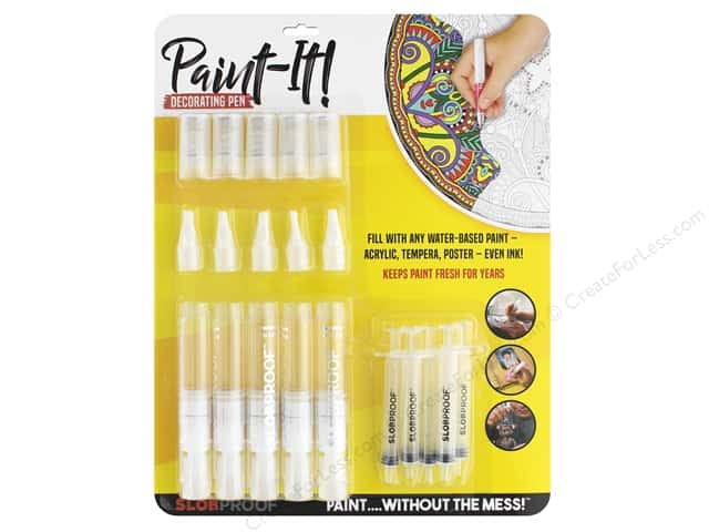 Slobproof Paint It Decorating Pen