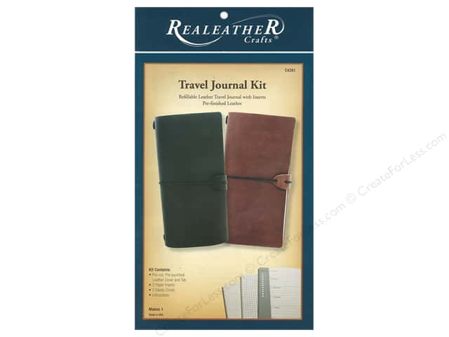 REALEATHER Travel Journal Kit Rustic