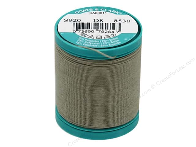 Coats & Clark Dual Duty Plus Button & Craft Thread 50 yd. #155 Dogwood