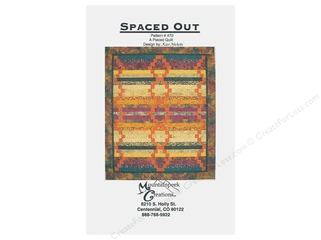 Mountainpeek Creations Spaced Out Pattern