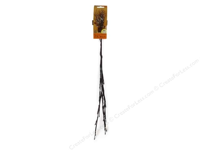 Darice Branch LED Battery Operated 27 in.  Brown