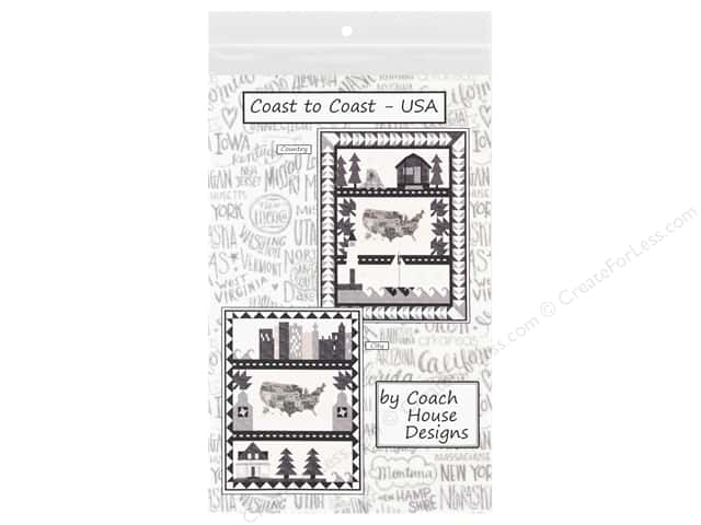Coach House Designs Coast To Coast USA Pattern