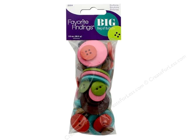 Blumenthal FF Big Bag Of Buttons 3.5 oz Etcetera