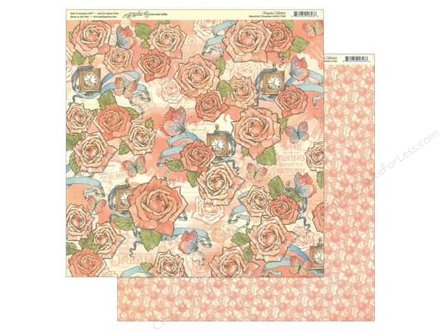 Graphic 45 Collection Imagine Paper 12 in. x 12 in. Beautiful Dreamer
