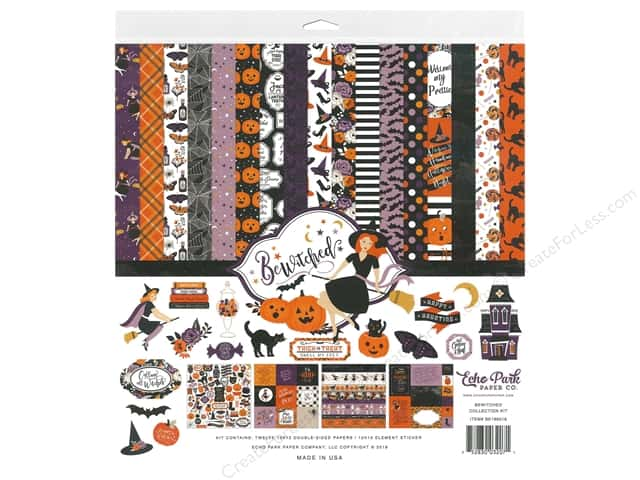 Echo Park Collection Bewitched Collection Kit 12 in. x 12 in.