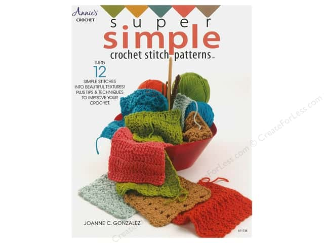 Annie's Super Simple Crochet Stitch Patterns Book