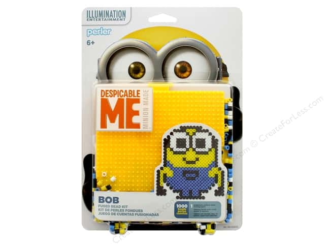 Perler Fused Bead Kit 1000 pc Minions Despicable Me 3
