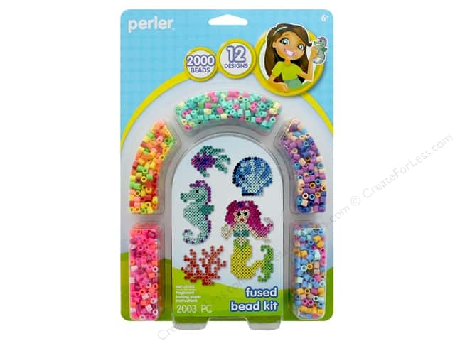 Perler Fused Bead Kit 2000 pc Mermaid