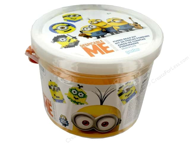 Perler Fused Bead Kit Bucket 6005 pc Minions Despicable Me 3