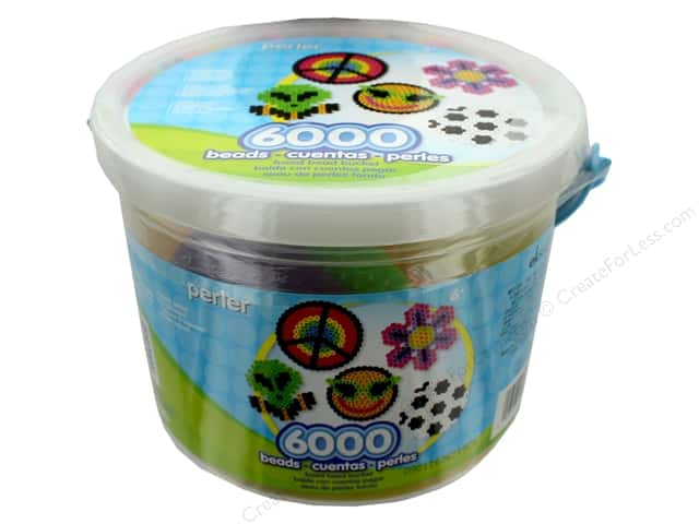 Perler Fused Bead Kit Bucket 6000 pc