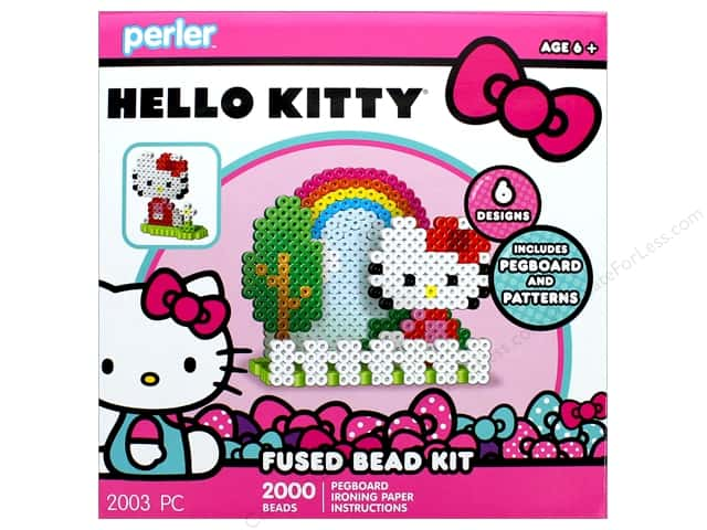 Perler Fused Bead Kit Box 2000 pc Hello Kitty