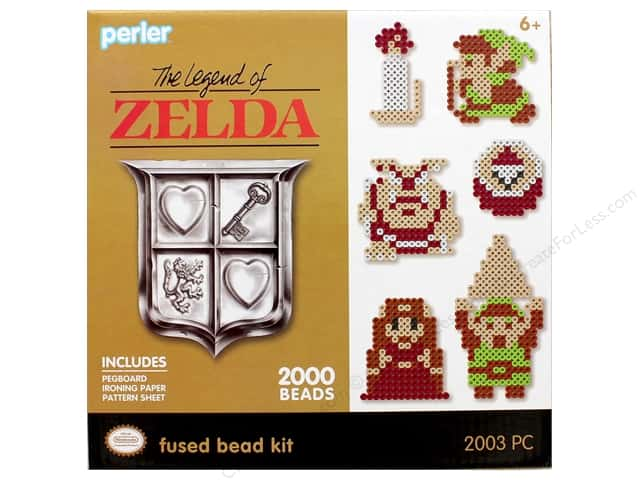 Perler Fused Bead Kit Box 2000 pc Legend Of Zelda