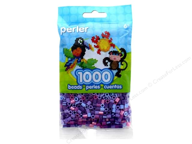 Perler Beads 1000 pc. Purple Jewel Tone Mix
