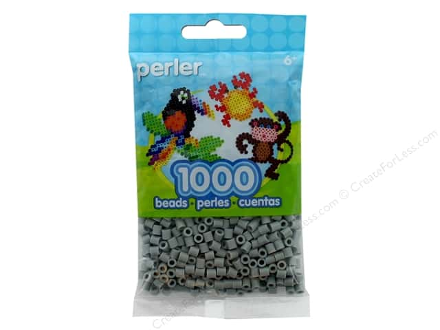 Perler Beads 1000 pc. Pewter