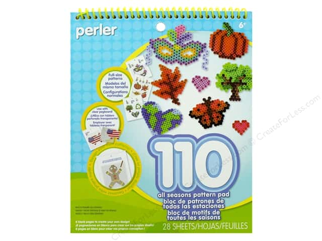 Perler Fused Bead Pattern Pad All Seasons 3