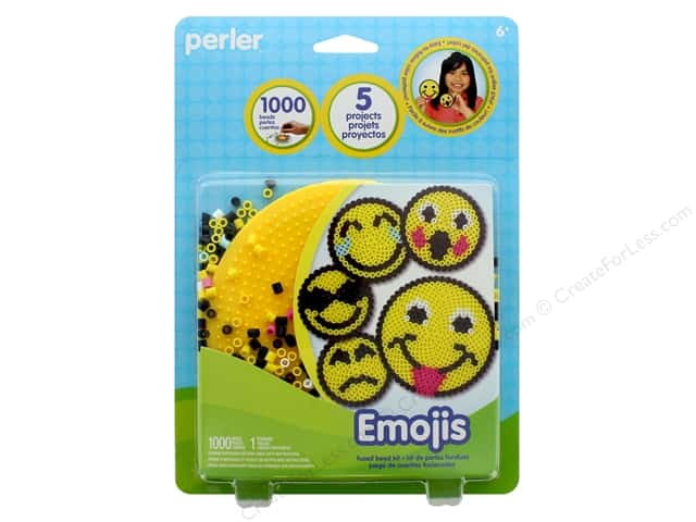 Perler Fused Bead Kit 1000 pc Emojis