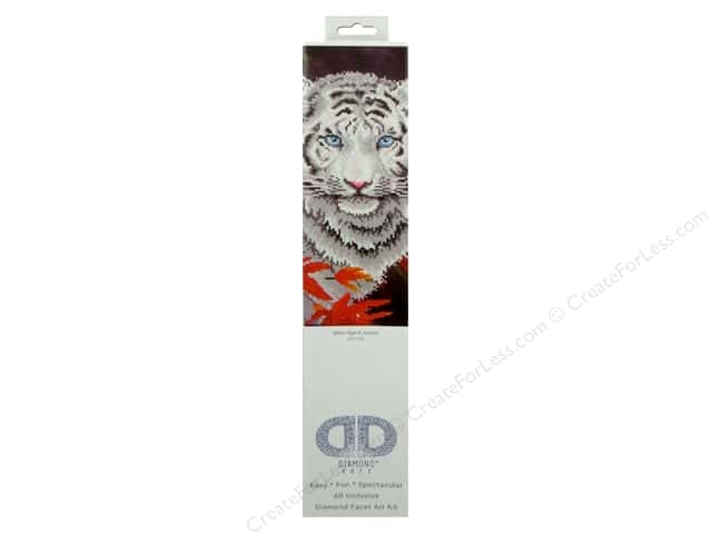 Diamond Dotz Intermediate Kit - White Tiger In Autumn