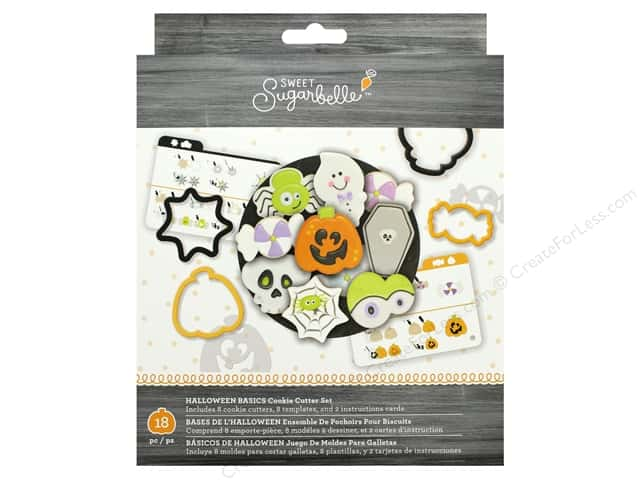 American Crafts Sweet Sugarbelle Cookie Cutter Set Halloween Basics