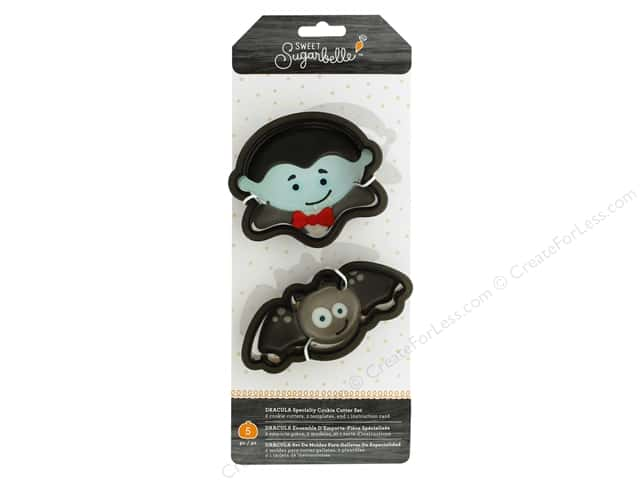 American Crafts Collection Sweet Sugarbelle Cookie Cutter Set Dracula