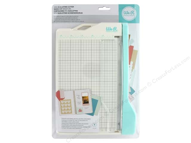 We R Memory Keepers Mini Guillotine Paper Cutter