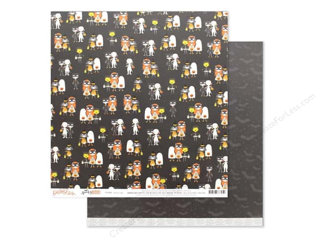 Pebbles Spooky Boo 12 in. x 12 in. Trick Or Treat