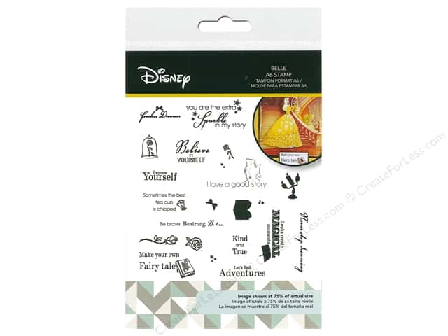 Character World Stamp Disney Beauty And The Beast Belle
