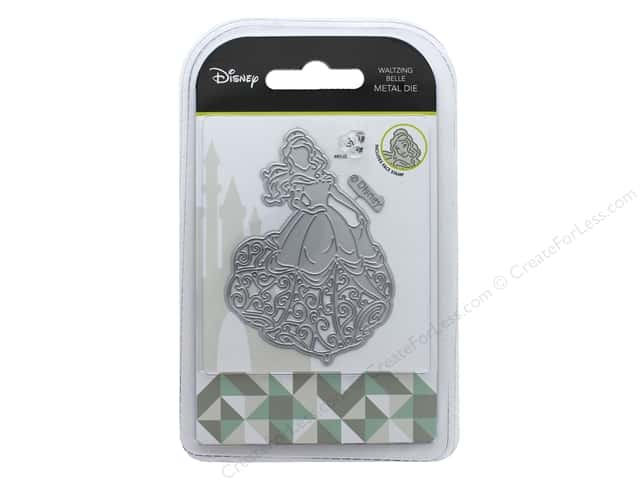 Character World Die/Stamp Disney Beauty And The Beast Waltzing Belle