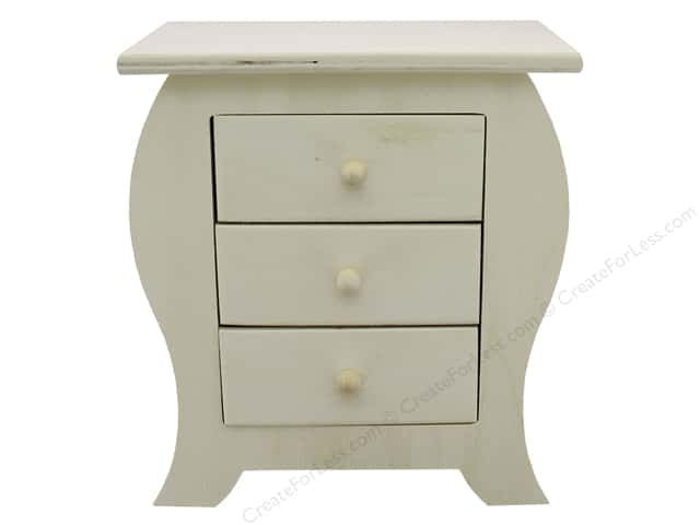 Sierra Pacific Crafts Wood Dresser Tabletop 7 in. x 4 in. x 8 in. Unfinished