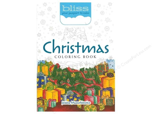 Dover Publications Christmas Coloring Book