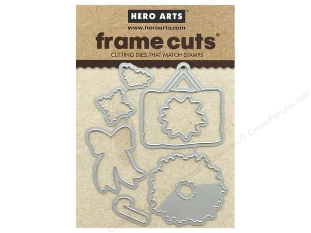 Hero Arts Die Frame Cuts Santa's Door Accessories
