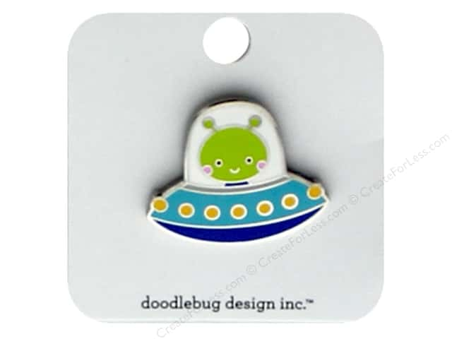 Doodlebug Collection So Much Pun Collectible Pin Alien