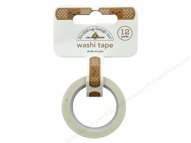 Doodlebug Collection So Much Pun Washi Tape Stuck On You
