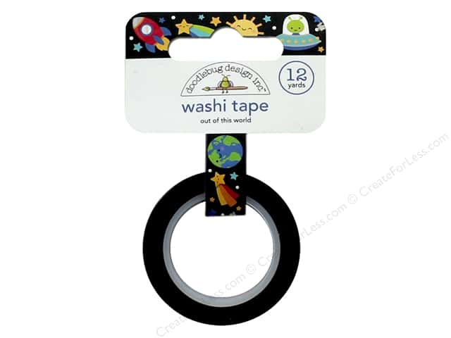 Doodlebug Collection So Much Pun Washi Tape Out Of This World