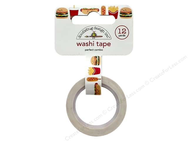 Doodlebug Collection So Much Pun Washi Tape Perfect Combo