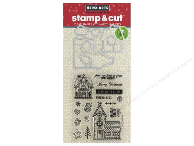 Hero Arts Stamp & Cuts Fluffy Stockings