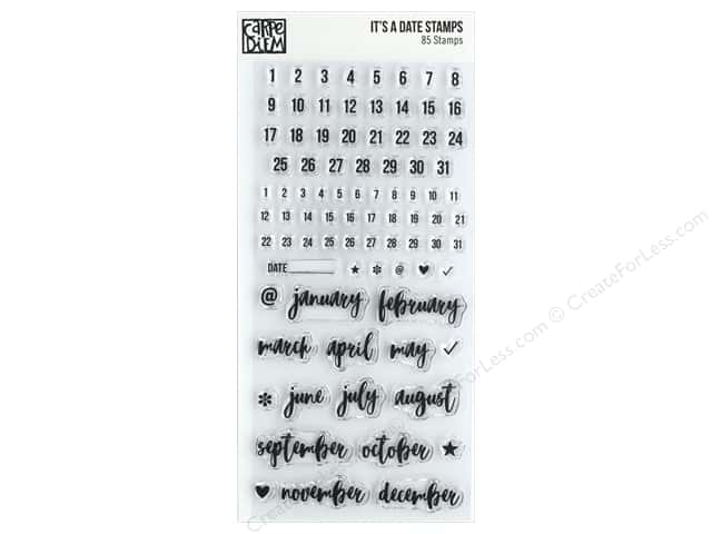 Simple Stories Carpe Diem Stamp Its A Date Createforless