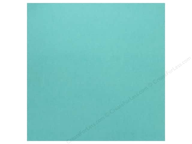 Doodlebug Cardstock 12 x 12 in. Textured Swimming Pool