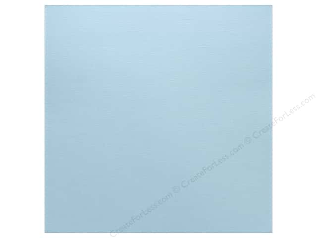 Paper Accents Cardstock 12 x 12 in. Textured Bubble Blue