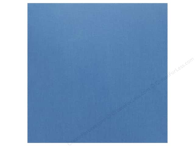 Doodlebug Cardstock 12 x 12 in. Textured Blue Berry