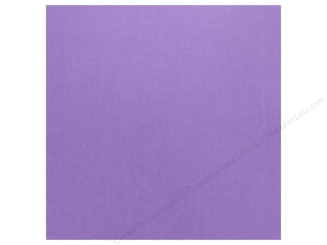 Doodlebug Cardstock 12 x 12 in. Textured Lilac