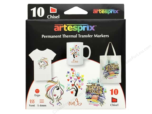 Artesprix Permanent Thermal Transfer Markers